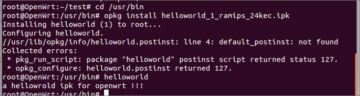 reviews:openwrt_sdk_helloworld_install_run.png